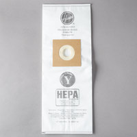 Hoover AH10040 Type Y HEPA Vacuum Bag for Upright Vacuums - 2/Pack