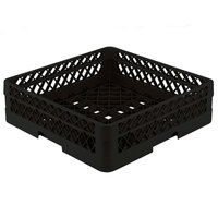Vollrath TR1A Traex Full-Size Black 5 1/2 inch Open Rack with 1 Extender