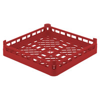 Vollrath 52670 Signature Full-Size Red 4 1/8 inch Short Open Rack