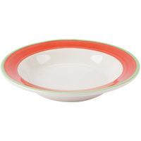 Homer Laughlin 2538083 Toulon 12.75 oz. Rolled Edge Rim Soup Bowl - 24/Case