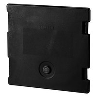Cambro 6318110 Black Camcarrier Replacement Door with Gasket and Vent Cap