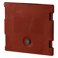 Cambro 6318402 Brick Red Camcarrier Replacement Door with Gasket and Vent Cap