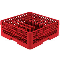 Vollrath TR3AAP14 Traex Red Extended Peg Rack for 12 1/4 inch Diameter Plates