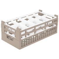 Vollrath 52822 Signature Half-Size Cocoa 10-Compartment 8 7/8 inch X-Tall Rack
