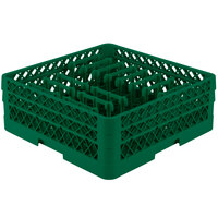 Vollrath TR3AAP14 Traex Green Extended Peg Rack for 12 1/4 inch Diameter Plates