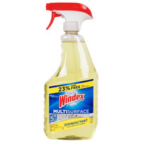 Diversey Windex CB701380 32 oz. Antibacterial All Purpose Multi Surface Cleaner - 8/Case