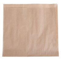 Choice 7 inch x 7 inch Natural Kraft Basket Liner / Deli Wrap - 2000 / Case