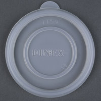 Dinex DXTT59 Translucent Disposable Lid for Dinex DX45C Tradition 5 oz. Insulated Bowls, DX4M Tradition 8 oz. Insulated Mugs, and Carlisle 4364807 Lorraine 8 oz. Clear SAN Tumbler - 2000/Case