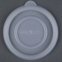 Dinex DXTT59 Translucent Disposable Lid for Dinex DX45C Tradition 5 oz. Insulated Bowls, DX4M Tradition 8 oz. Insulated Mugs, and Carlisle 4364807 Lorraine 8 oz. Clear SAN Tumbler - 2000 / Case
