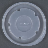 Dinex DX43008714 Heritage Translucent Disposable Lid for Dinex DX4300 Heritage 9 oz. Insulated, Stackable Bowl - 1000/Case