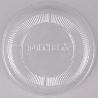 Dinex DX11830174 Classic Clear-View Disposable Dome Lid for Dinex DX3300 Turnbury 9 oz. Insulated Pedestal Based Bowl and DX1187 Classic 8 oz. Bowl - 1000 / Case