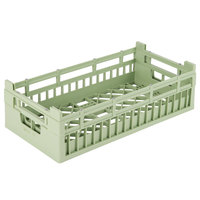 Vollrath 52801 Signature Half-Size Light Green 5 9/16 inch Medium Open Rack