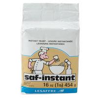 Lesaffre SAF-Instant Yeast 1 lb. Vacuum Pack - 20 / Case