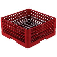 Vollrath PM2006-3 Traex Red 20 Compartment Plate Rack - 4 3/4 inch-6 1/2 inch