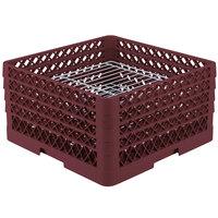 Vollrath PM3208-2 Traex Burgundy 32 Compartment Plate Rack
