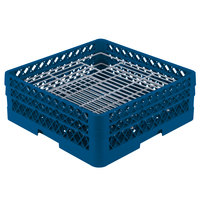 Vollrath PM4806-2 Traex Royal Blue 48 Compartment Plate Rack - 5 inch-6 inch