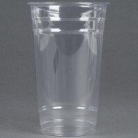 Choice 24 oz. Clear PET Plastic Cold Cup - 600 / Case