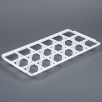 Vollrath 5231210 Signature Half-Size 18 Compartment Glass Rack Trim Divider