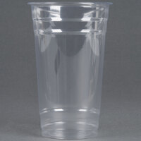 Choice 24 oz. Clear PET Plastic Cold Cup - 50 / Pack