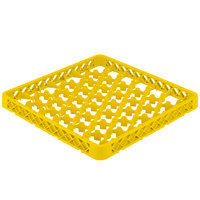 Vollrath TRM Yellow Full-Size 42 Compartment Extender for Vollrath Traex Glass Racks