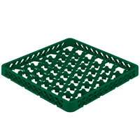 Vollrath TRM Green Full-Size 42 Compartment Extender for Vollrath Traex Glass Racks