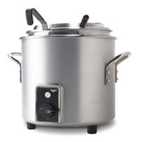 Vollrath 7217210 Natural Finish Retro 11 qt. Stock Pot Kettle Rethermalizer - 1450W