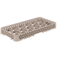 Vollrath HRD Traex Half-Size Beige 17 Compartment Glass Rack Extender