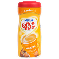 Nestle Coffee-Mate Hazelnut Coffee Creamer Shaker - 15 oz. 12/Case