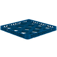 Vollrath TRJ Royal Blue Full-Size 12 Compartment Extender for Vollrath Traex Glass Racks