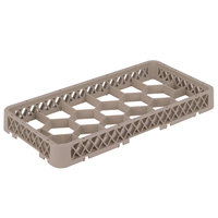 Vollrath HRF Traex Half-Size Beige 17 Compartment Glass Rack Extender