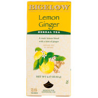 Bigelow Lemon Ginger Herb Tea - 28/Box