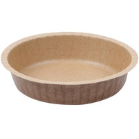 Solut 91088 10 oz. Corrugated Kraft Baking Cup with Flange   - 50/Pack