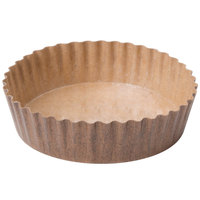 Solut 22078 8 oz. Corrugated Baking Cup with PET Coating - 40 / Pack