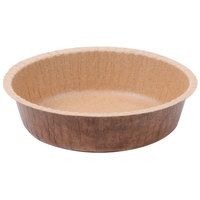 Solut 90888 8 oz. Corrugated Kraft Baking Cup with Flange - 50/Pack
