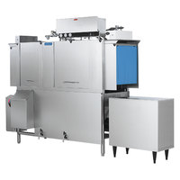 Jackson AJ-66 Single Tank Low Temperature Conveyor Dishmachine - Left to Right, 208V, 3 Phase
