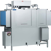 Jackson AJX-76 Single Tank Low Temperature Conveyor Dish Machine - Left to Right