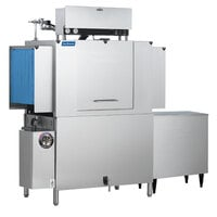 Jackson AJ-44 Single Tank Low Temperature Conveyor Dishmachine - Left to Right