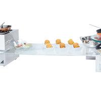 Eastern Tabletop 05247AC 24 inch x 7 inch Rectangular Acrylic Buffet Shelf