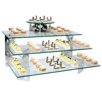 Eastern Tabletop 0507AC 33 inch x 7 inch Rectangular Acrylic Buffet Shelf