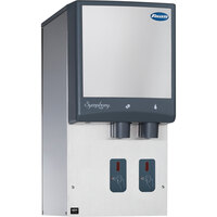 Follett 12HI425A-S0-DP 12 Series Air Cooled Wall Mount Ice and Water Dispenser with Drain Pan - 12 lb. Storage