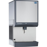 Follett 25CI425W-LI Symphony Countertop Water Cooled Ice Maker / Dispenser - 25 lb.