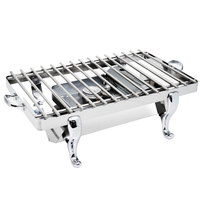Eastern Tabletop 3257G Park Avenue 28 inch Stainless Steel Grill Stand with Removable Grill Top
