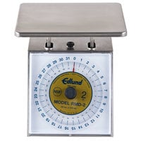 Edlund RMD-2 Four Star Series Deluxe 32 oz. Portion Scale with 7 inch x 8 3/4 inch Platform