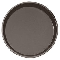 Cambro PT1400167 Brown 14 inch Round Polytread Serving Tray