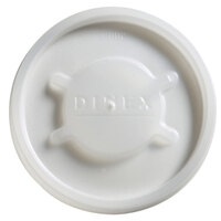 Dinex DX20029000 Translucent Disposable Lid for Dinex 43633 Lafayette 7.6 oz. PC Tumbler, Cambro NT8 Newport 7.7 oz. Tumbler, Dinex 43663 8 oz. Swirl PC Tumbler, and Cambro HT8CW Camwear Huntington 8 oz. Squat Tumbler - 1500 / Case