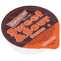 Admiration Sweet and Sour Sauce - (100) 1.5 oz. Portion Cups / Case