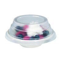 Dinex DX11880174 Classic Clear Disposable Lid for Dinex China Bread Plates & Fruit Bowls 500 / Case