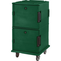Cambro UPC1600519 Green Camcart Ultra Pan Carrier - Front Load