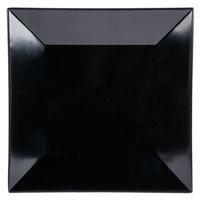 GET ML-91-BK 14 inch Black Siciliano Square Plate - 6/Case