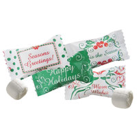 Season's Greetings Buttermints Individually Wrapped 1000 / Case